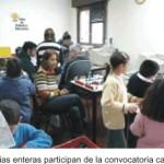Encuentro con la familia en el Taller de Robótica Educativa