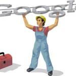 Doodle del trabajador