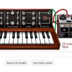 Doodle de homenaje al inventor del moog