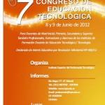 7mo. Congreso de Educación Tecnológica