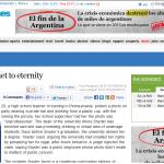 """Tres medios internacionales mencionan nuestra campaña """"Reinventando el olvido"""""""