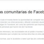 Facebook y un riesgo por omisión