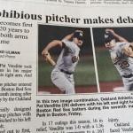 Esa rara manera de jugar al béisbol