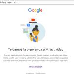 My Activity, nueva herramienta de Google para el control de nuestros datos