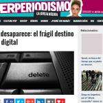 Nuestro ser digital, en manos del error, el deterioro y la obsolescencia